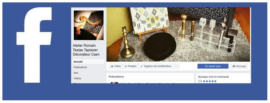 Suivre la page de L'Atelier sur Facebook