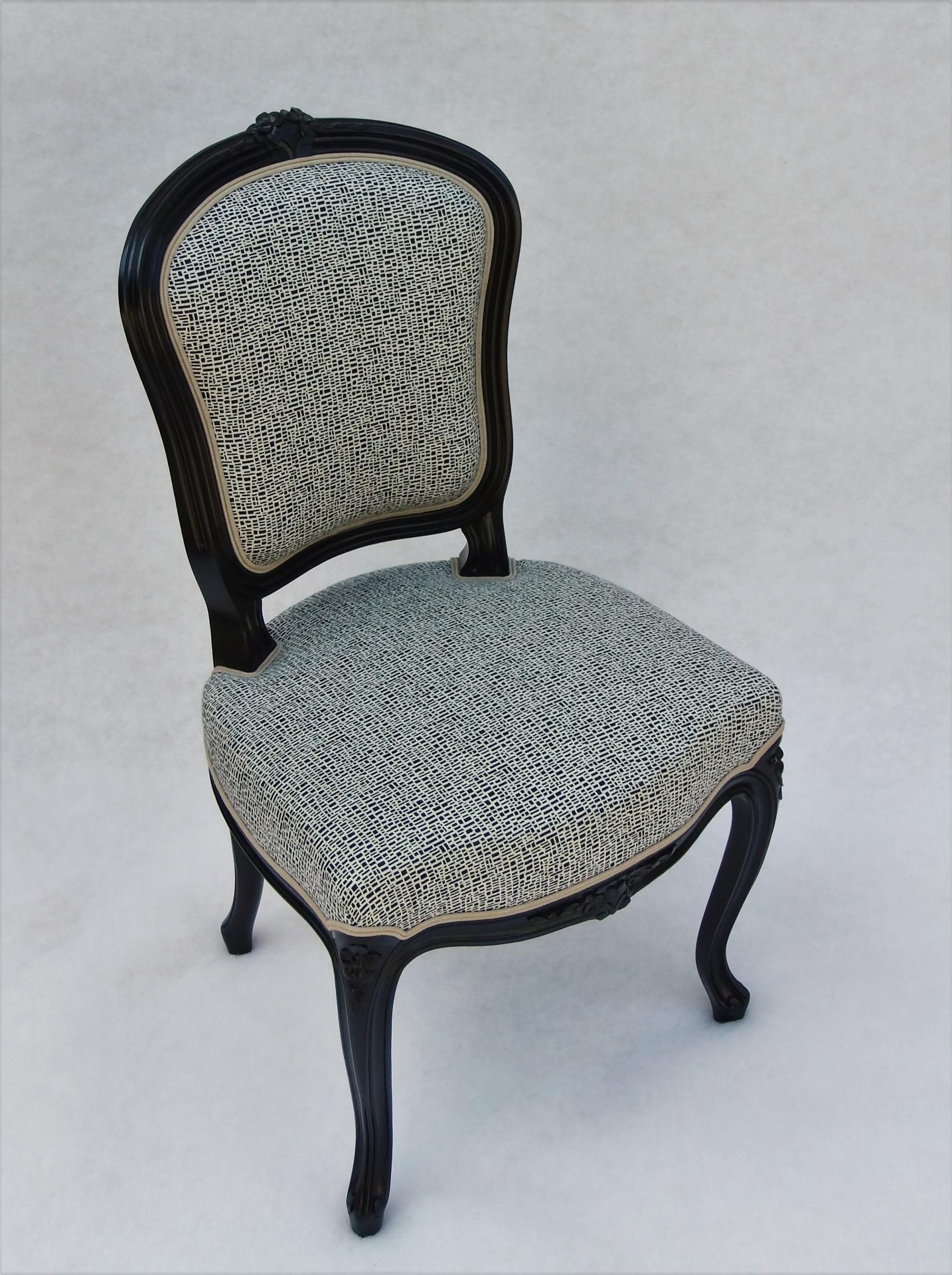 Chaise louis xv 1