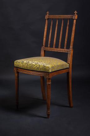Chaise louis xvi photo stephanie maupas 12