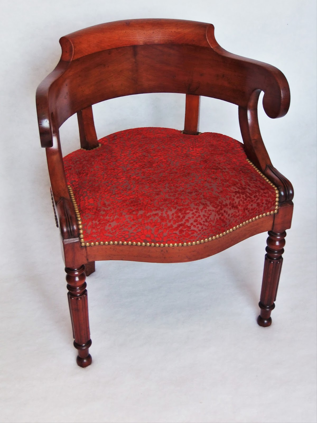 Fauteuil cabinet louis philippe 2
